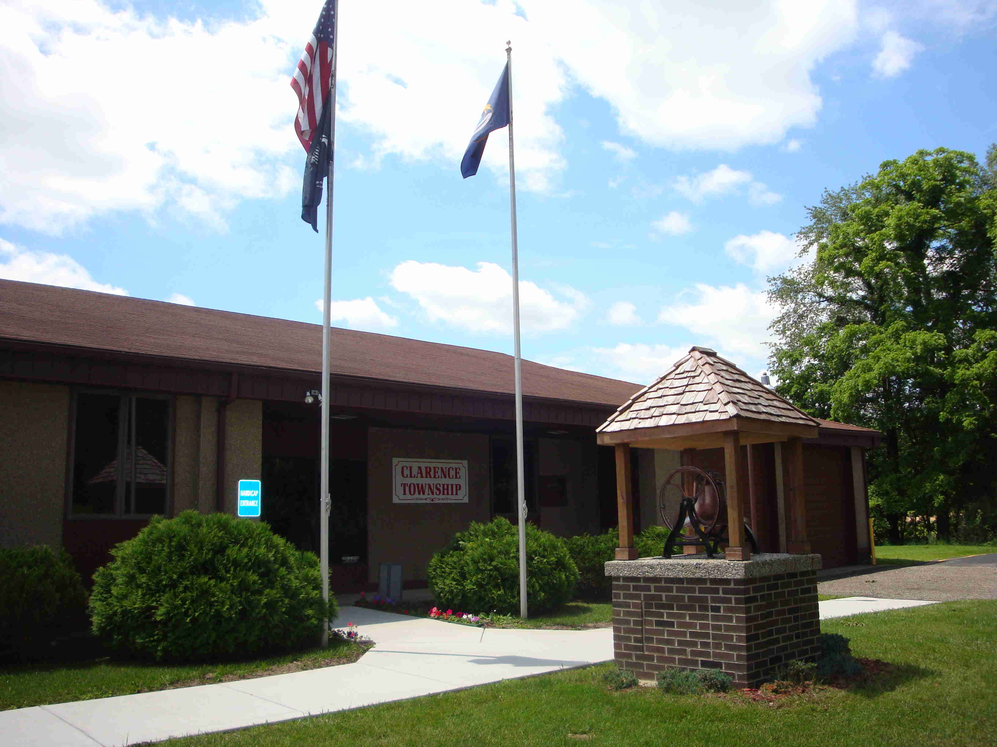 Clarence Township Hall